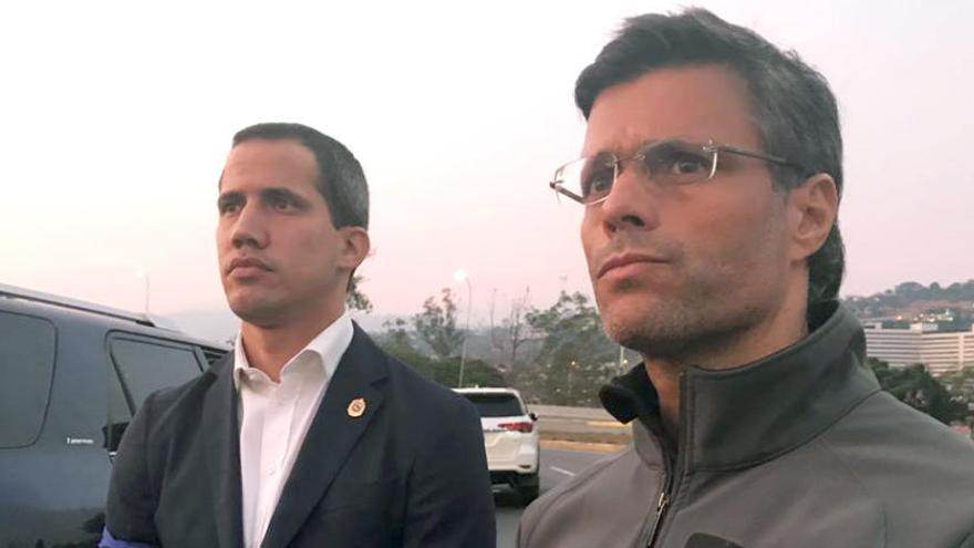 Guaidó y López se reunieron en la embajada de España