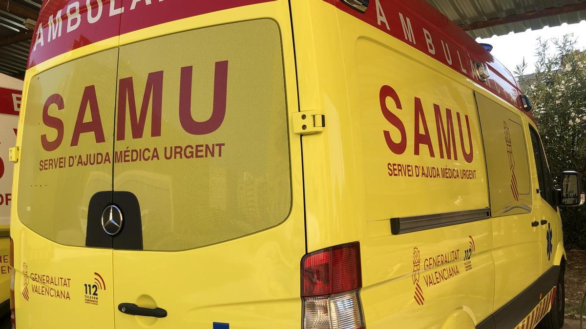Asistidas cuatro personas tras un accidente entre dos coches en Castelló