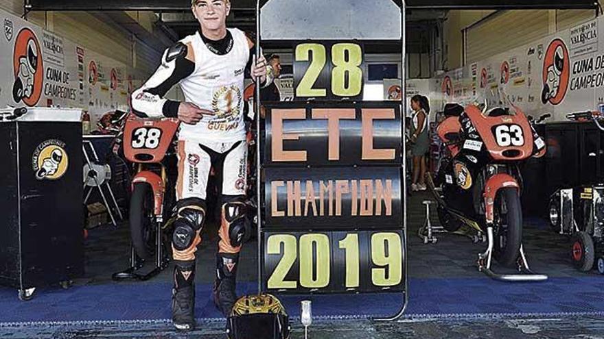 Izan Guevara se proclama campeón de la European Talent Cup en Jerez