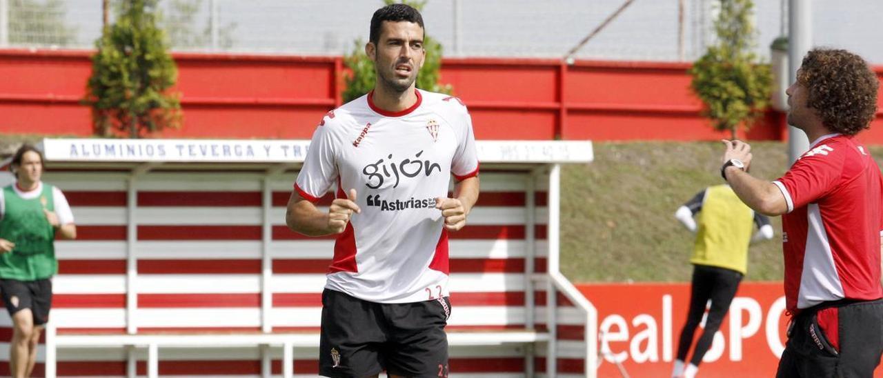 Ricardo León, en su etapa como sportinguista. | LNE
