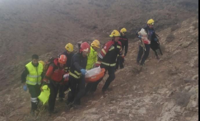 Un hombre muere al sufrir un accidente con un ala delta en Lanzarote