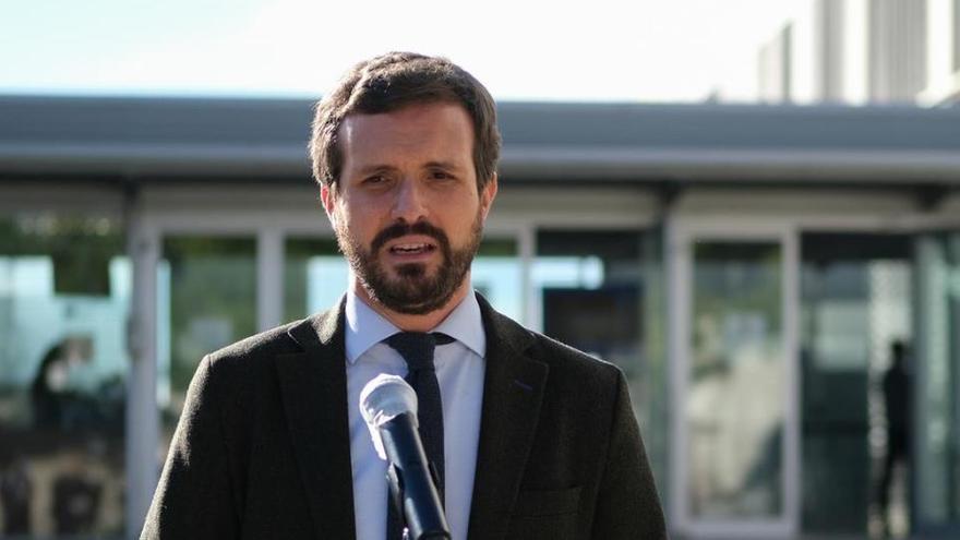 """Casado: """"Illa ha sido un pésimo ministro y no está a la altura de la Generalitat"""""""