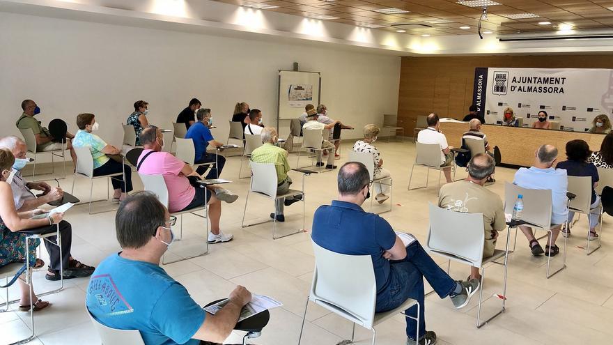 Almassora ofrece 10.000 euros por hanegada a los afectados por la pantalla verde