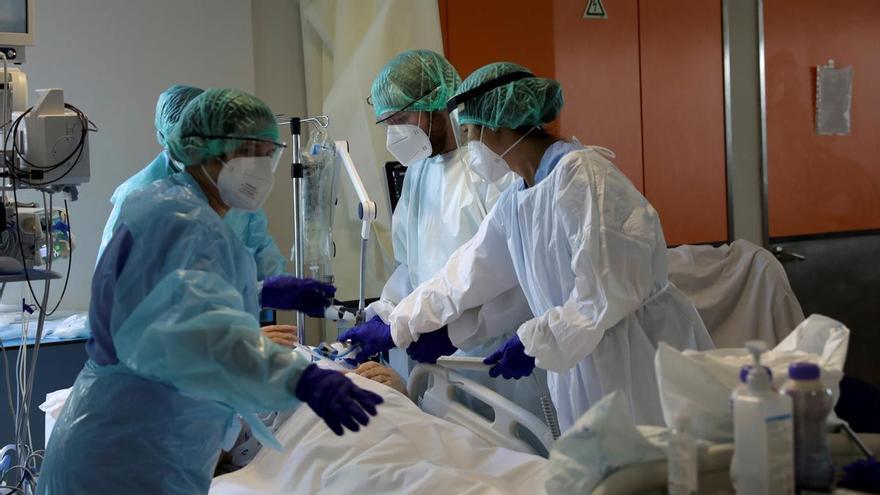 Los sanitarios portugueses se plantan tras la pandemia
