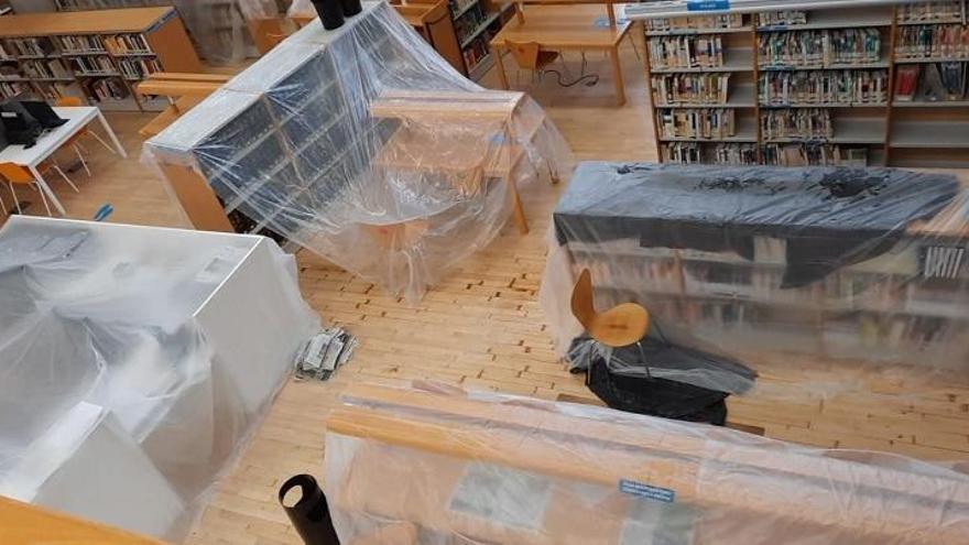 Renovarán las cubiertas del MVA para acabar con las goteras