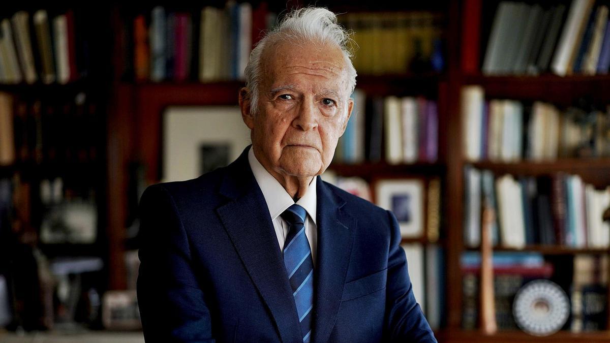 Matías Díaz Padrón, en Madrid.   josé luis roca