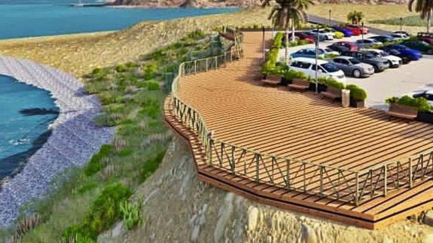 El Consell expropiará 3.000 metros de terreno para crear un mirador y  un parking en El Xarco de La Vila