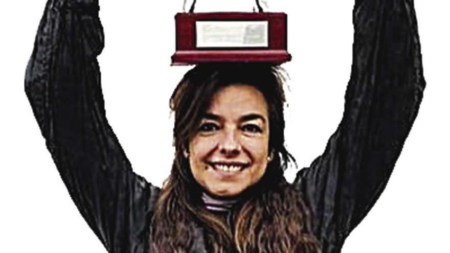 Alicia Framis, acción artística en el hipódromo