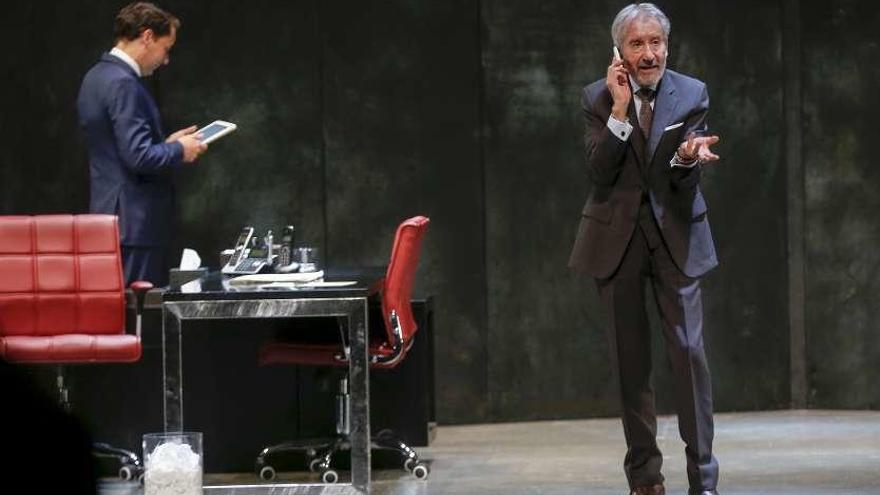 """José Sacristán homenajea a Delibes en """"Señora de rojo sobre fondo gris"""""""