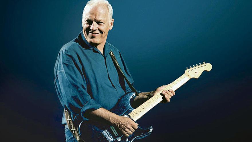 David Gilmour subasta 120 guitarras