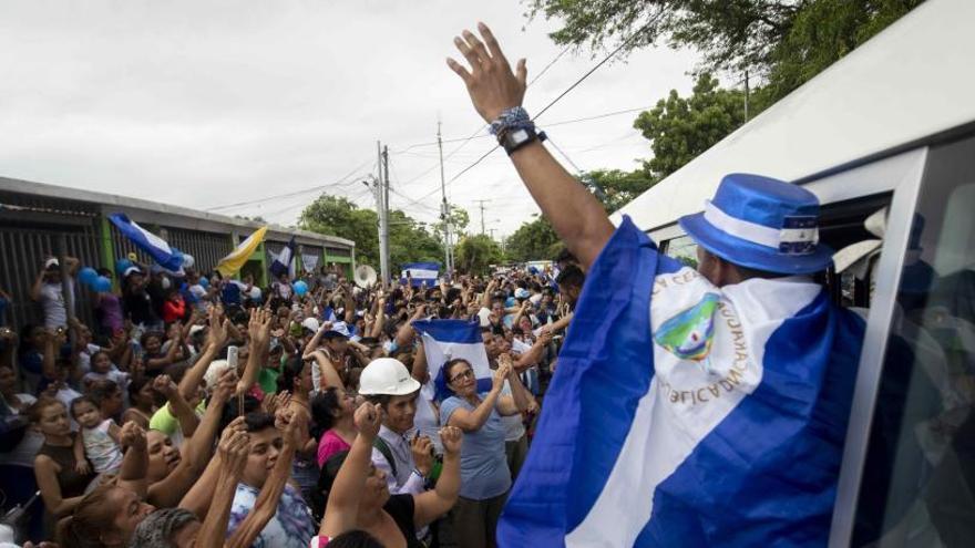 El Gobierno de Nicaragua libera a los principales líderes opositores