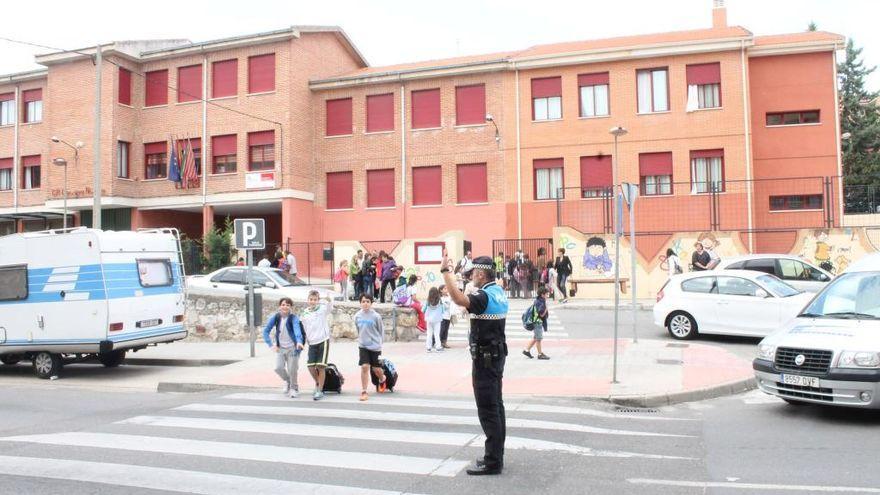 Educación pone en cuarentena un aula en el Obispo Nieto, en Zamora