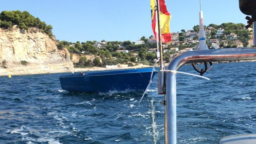 Llegan dos pateras con 14 inmigrantes a la costa de Benissa