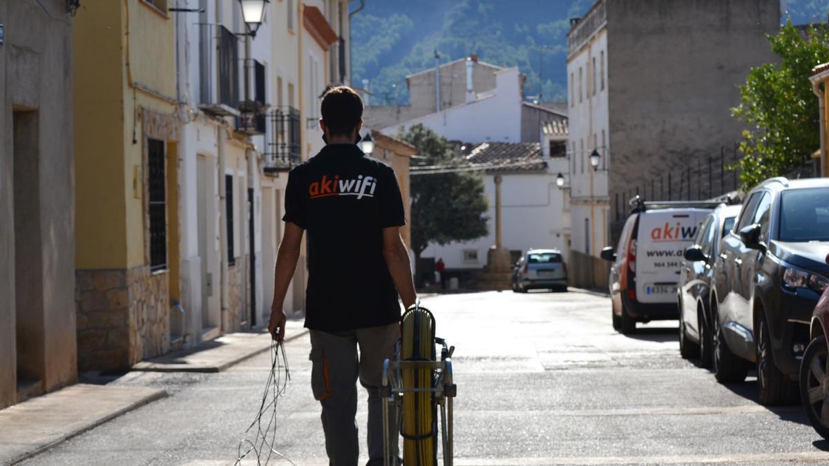 Akiwifi busca eliminar la brecha digital en Castellón.