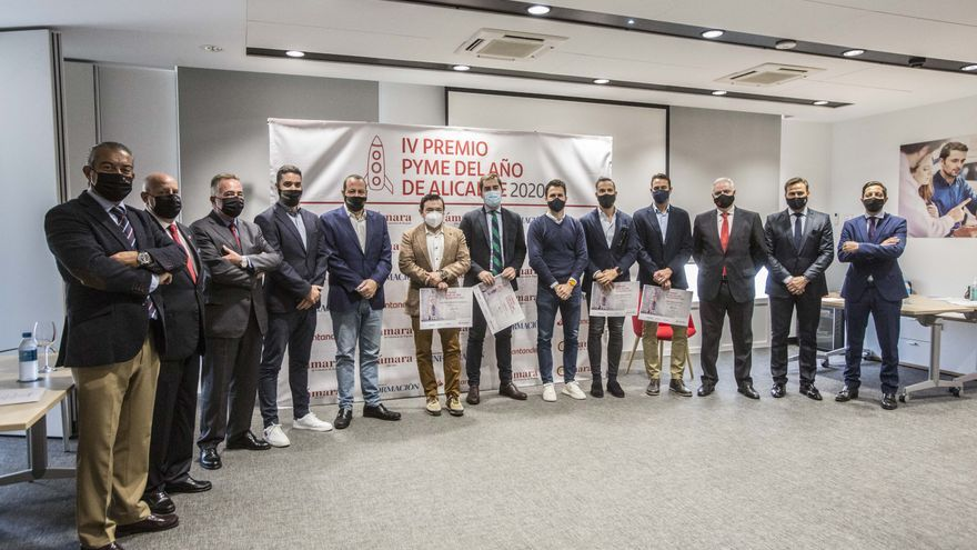 Estos son los ganadores de los premios a la Mejor Pyme del Año 2020 en Alicante