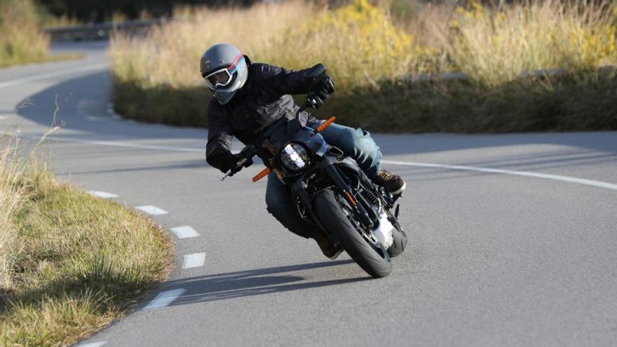 Al manillar de la nueva Harley-Davidson LiveWire