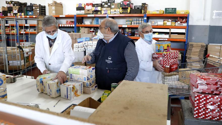 """El Banco de Alimentos pide apoyo en la Gran Recogida porque la situación """"se agrava día a día"""""""