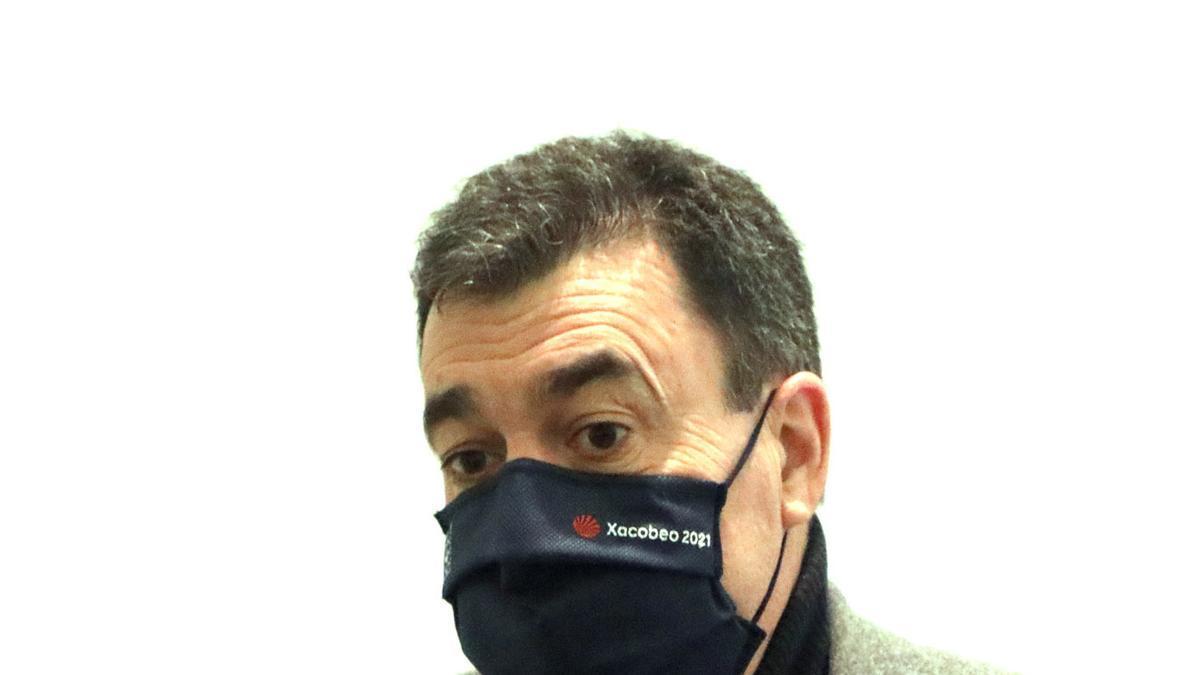 O conselleiro de Educación, Román Rodríguez.