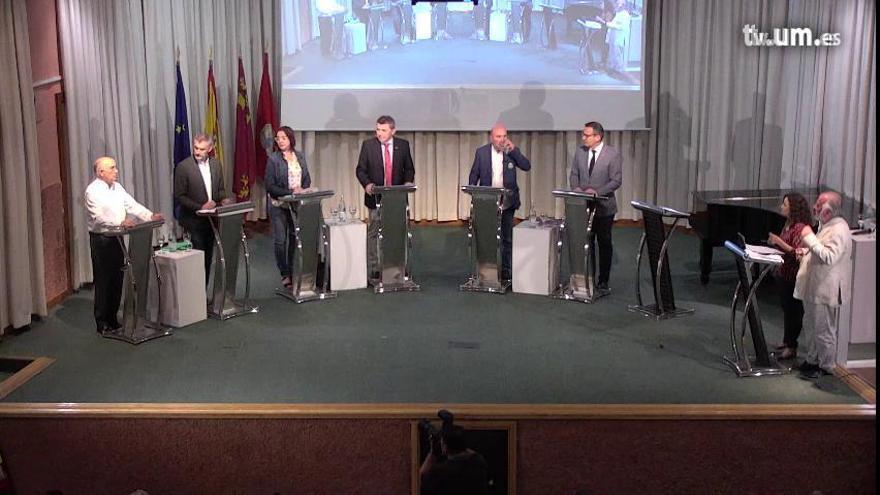 El debate de candidatos a la presidencia de la Comunidad organizado por LA OPINIÓN