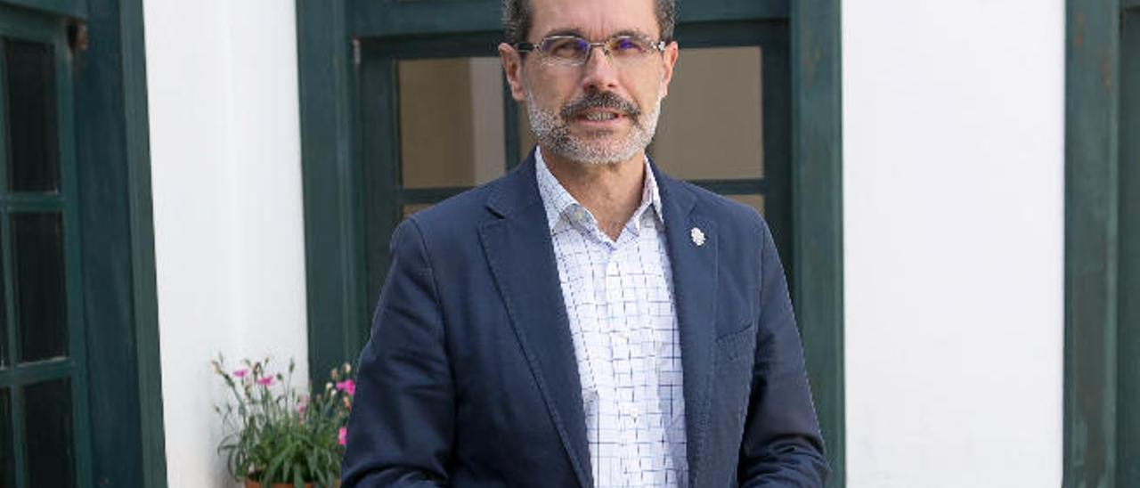 Marcial Morales, presidente del Cabildo de Fuerteventura.