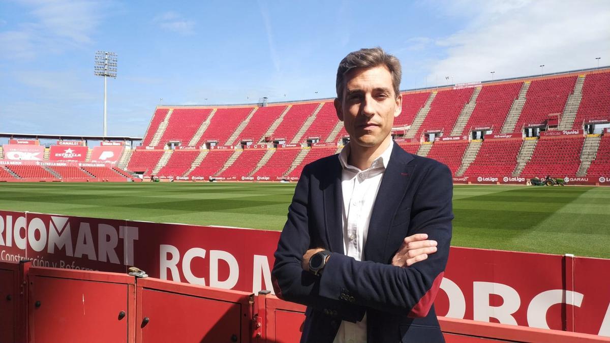 Alfonso Díaz, CEO de Negocios del Real Mallorca.