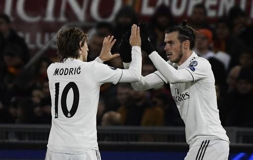 Las imágenes del partido entre la Roma y el Real Madrid.