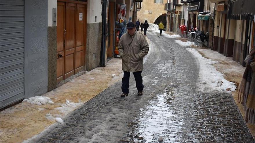 La ola de frío empezará a remitir el domingo en Castellón