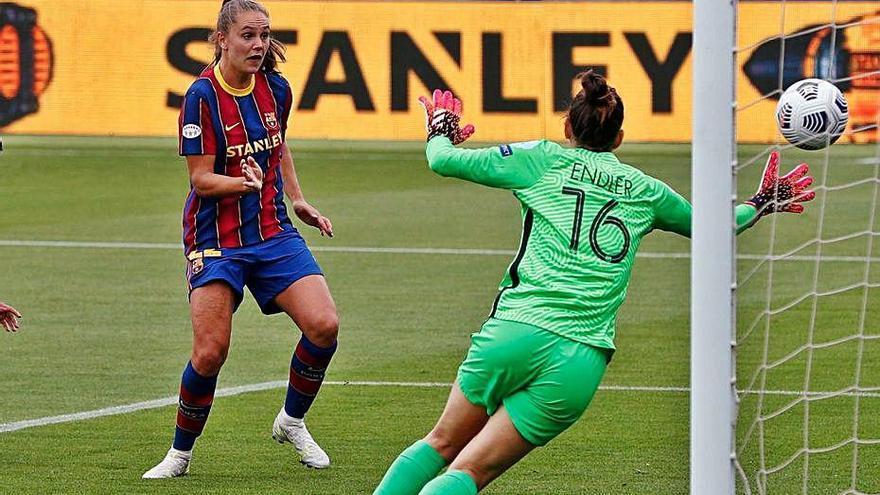 El Barça femení optarà a ser el campió d'Europa