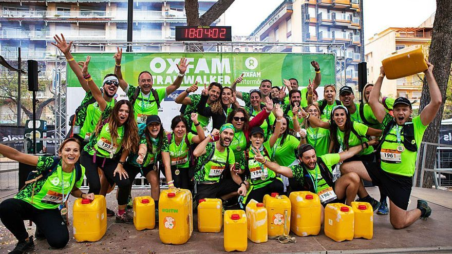 Quatre equips de Caixa Popular superen el repte contra la pobresa de la Trailwalker d'Oxfam Intermón