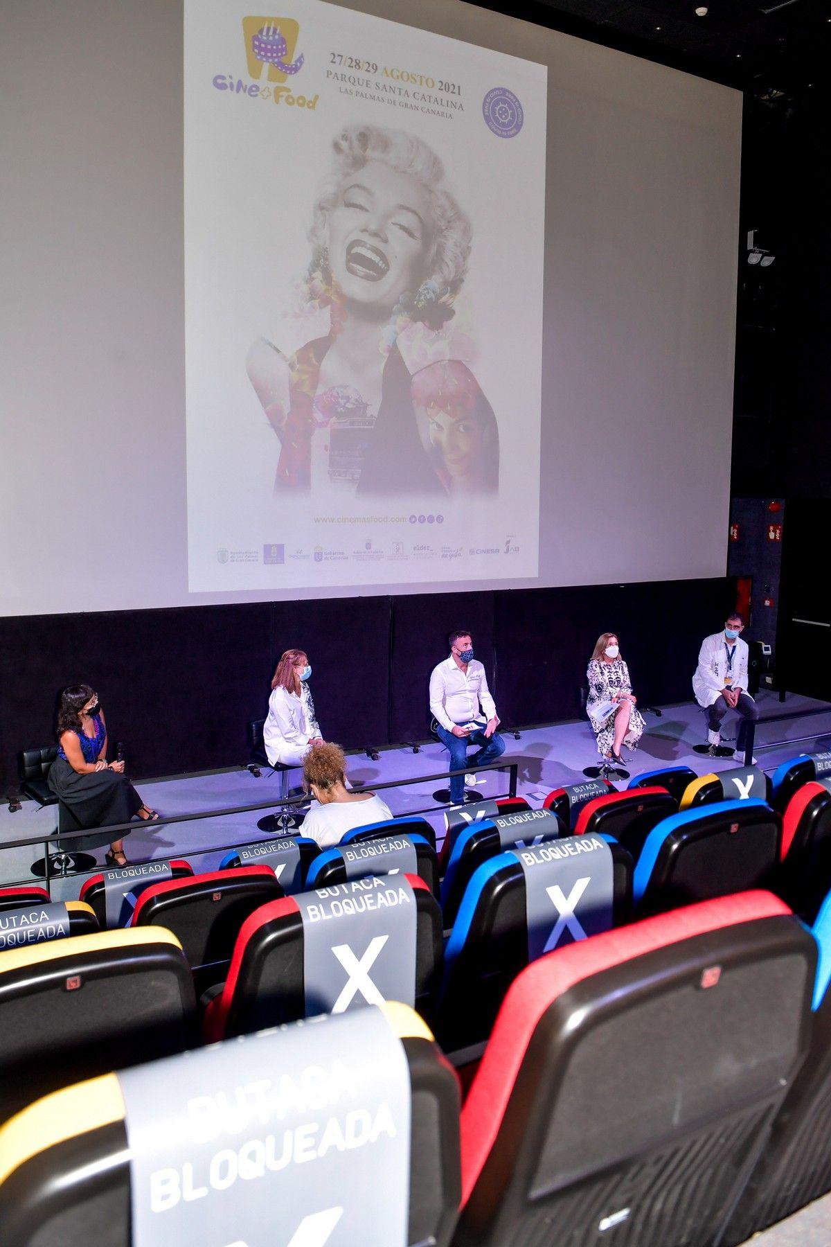 Presentación de Cine + Food