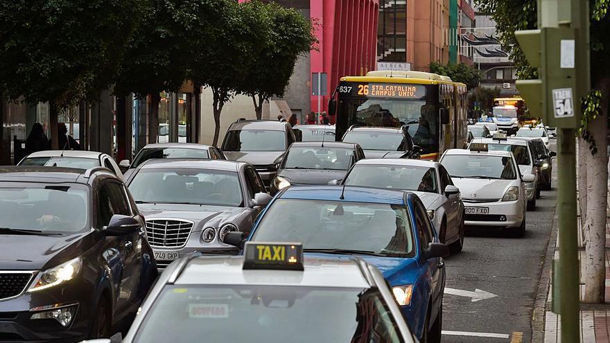 La capital, novena ciudad de España con el tráfico más congestionado