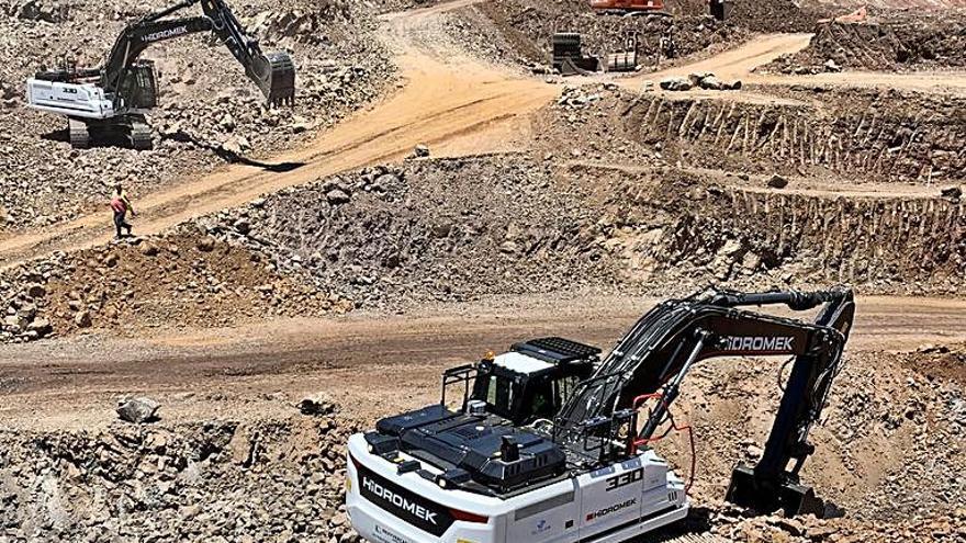 Última tecnología turca para construir el mayor túnel  de Canarias