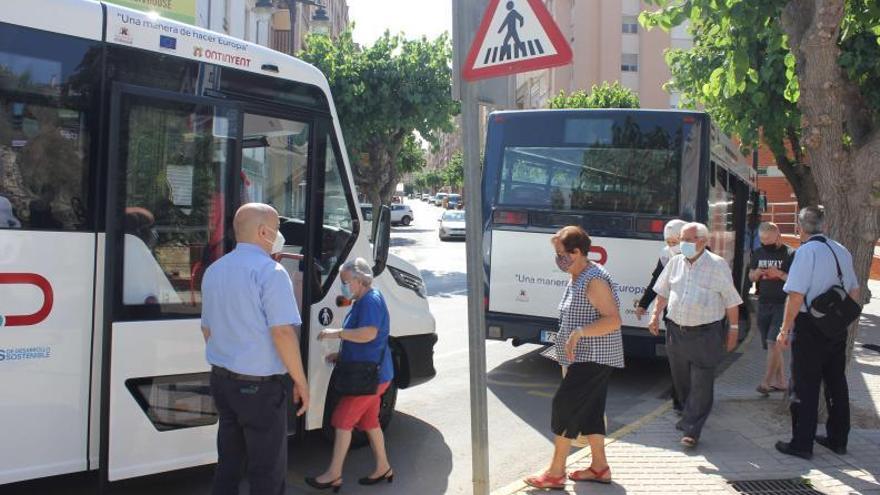 El bus gratuito de Ontinyent se acerca a los 100.000 usos