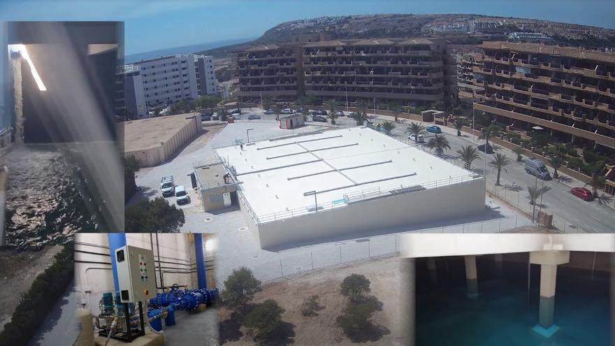 Así se levantó en nueve meses el depósito que ya suministra agua a Arenales y El Altet