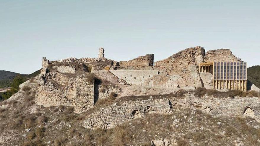 L'adequació del castell de Jorba al seu entorn, finalista dels premis FAD