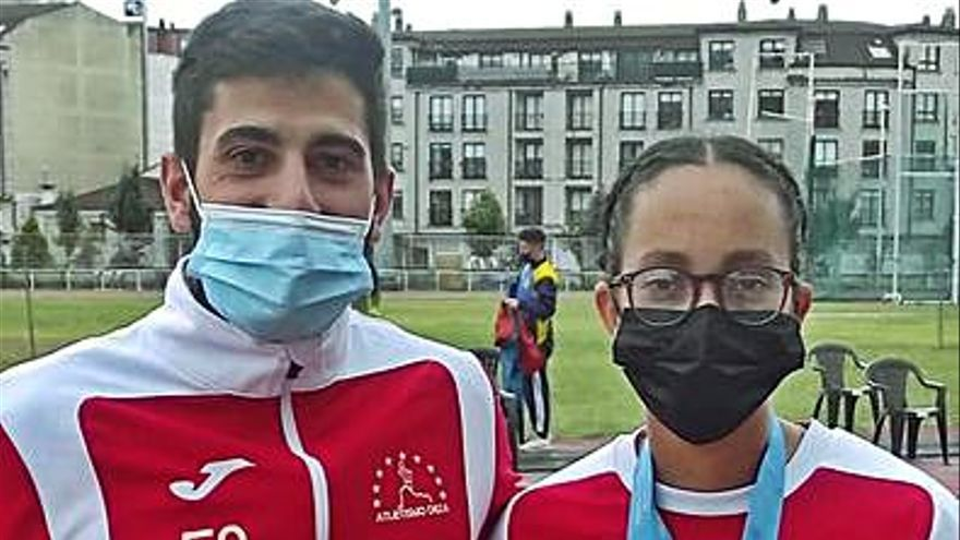 Mariem Khallouk se proclama campeona gallega Sub-20