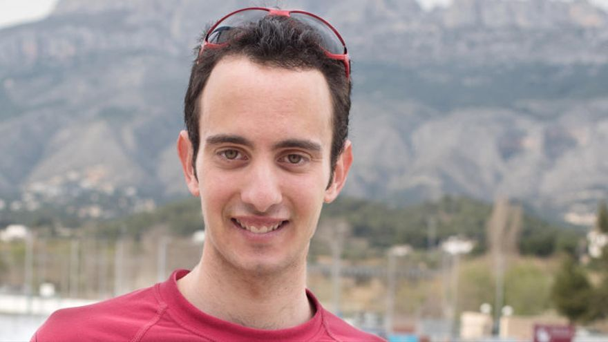 El atleta alteano Ángel López competirá en la carrera vertical de subida a la montaña de Montserrat