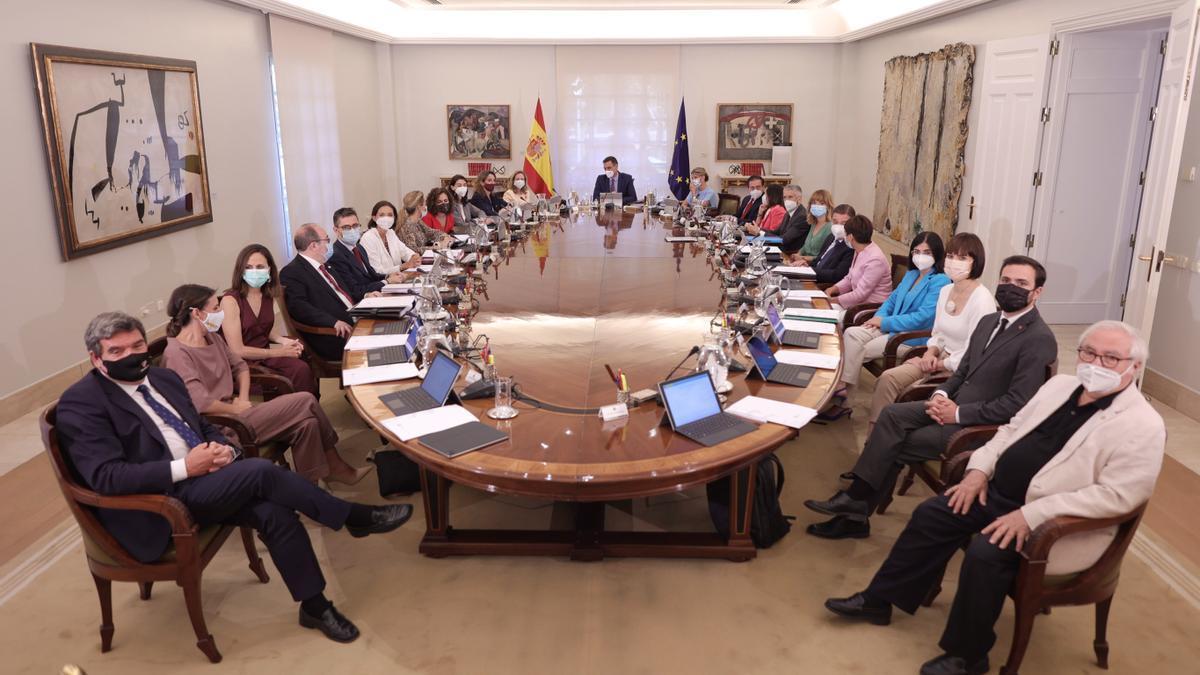 El nuevo Consejo de Ministros, el pasado martes.
