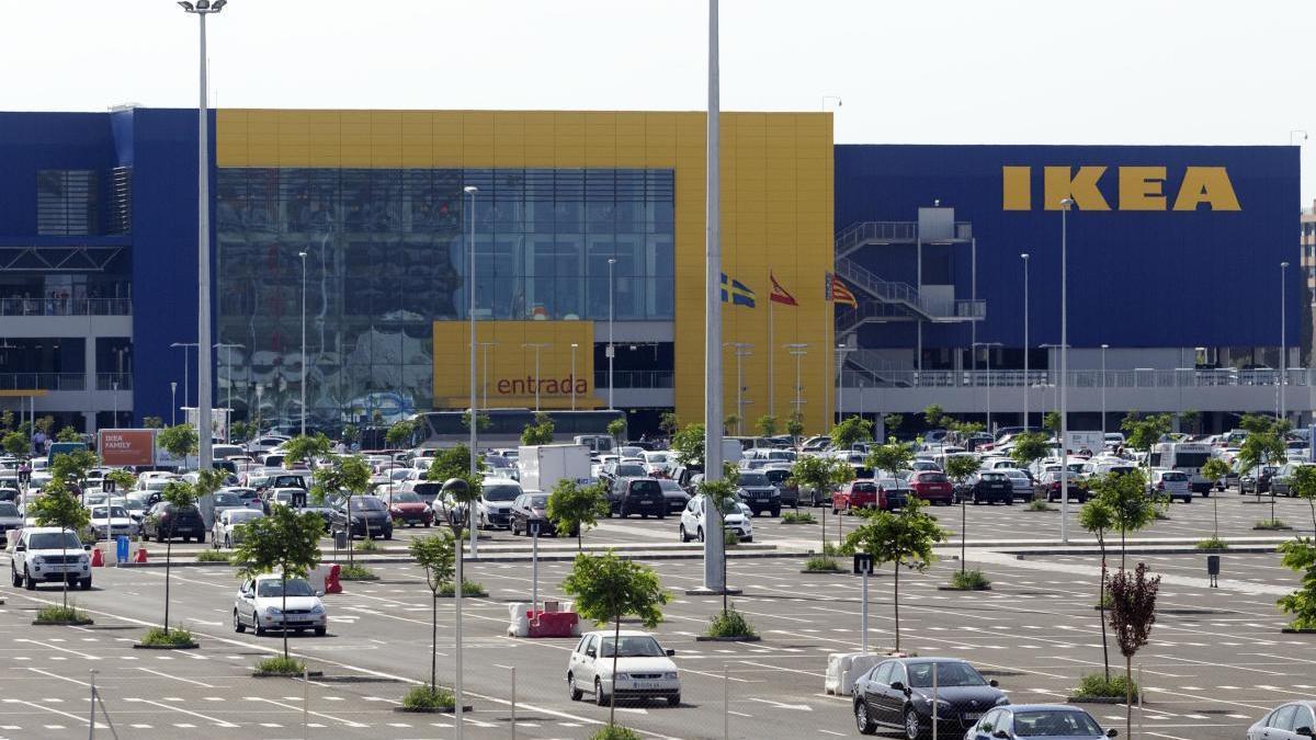 El centro de Ikea en Alfafar.