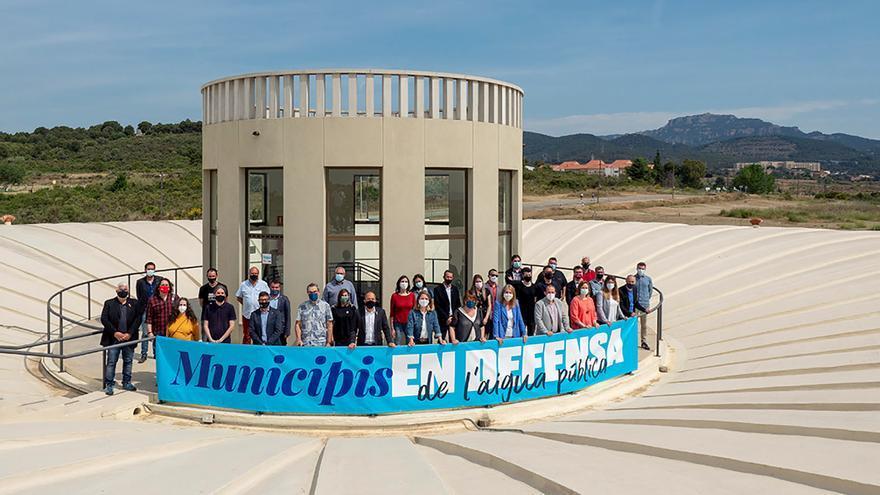 Girona participa en un acte contra la judicialització de la gestió pública de l'aigua
