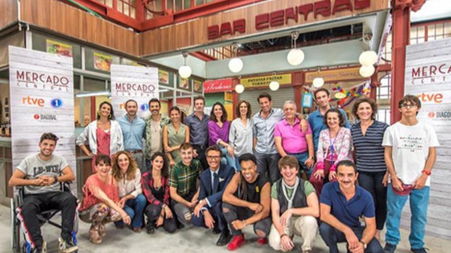 'Mercado Central', la nueva serie para las tardes de La 1