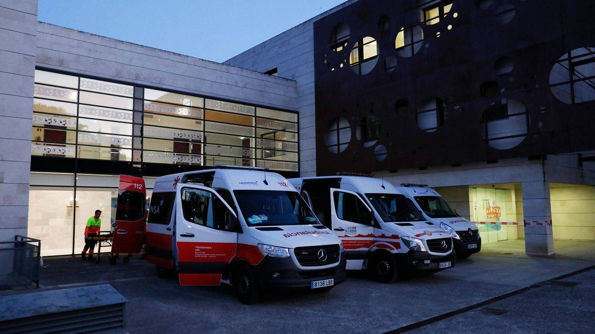 Ambulancias ante el CREDINE