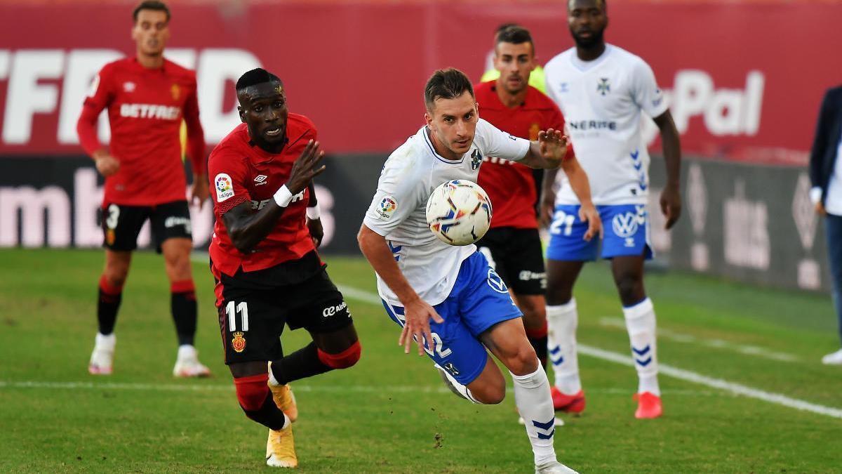 Resultado RCD Mallorca- CD Tenerife: 2-0: Tercera derrota consecutiva del  Tenerife