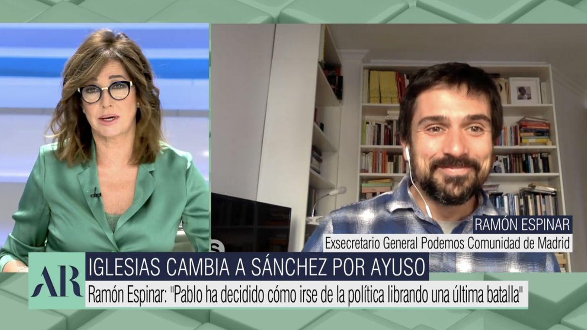 Ana Rosa Quintana y Ramón Espinar.