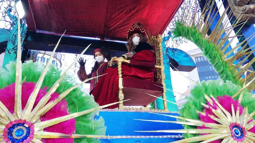 Los Reyes Magos ya están en Vigo