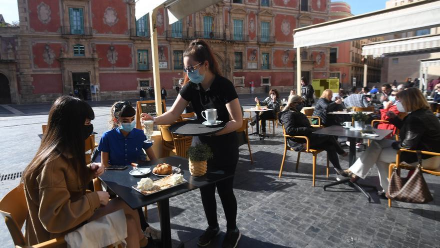 Murcia elimina las tasas a las terrazas durante todo el año 2021