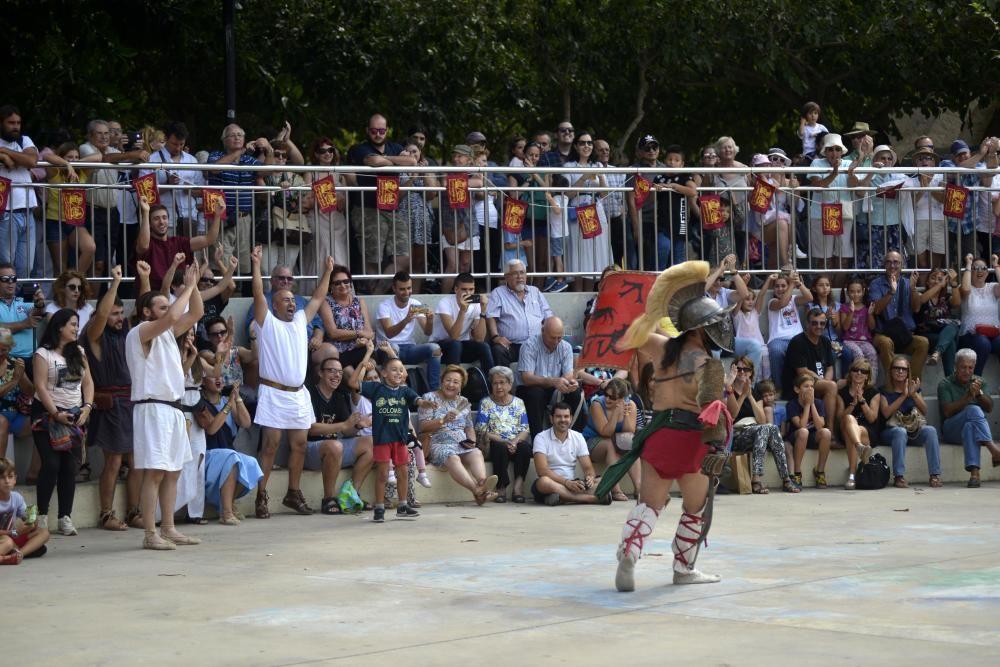 Carthagineses y Romanos: monera gladiatori