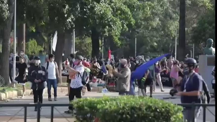 Indignación en Chile por la muerte de un malabarista a manos de la Policía