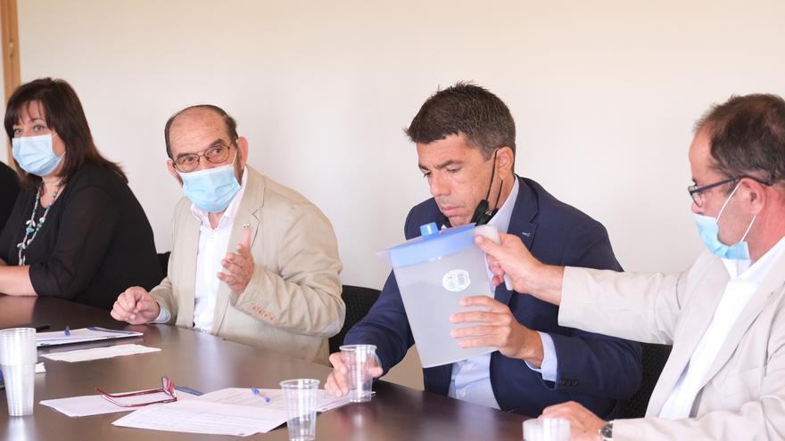 Mazón exigirá al Consell y al Gobierno alternativas al cierre de los pozos del Vinalopó