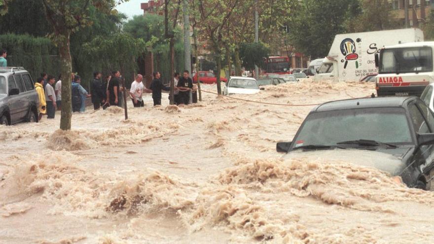 Así fue la riada en Alicante que hace 24 años dejó cuatro muertos